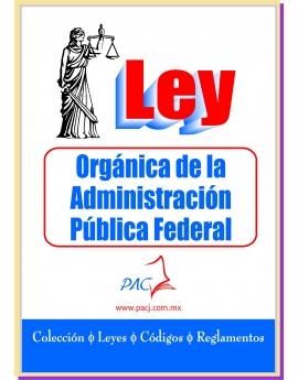 Ley Orgánica de la Administración Pública Federal - económica