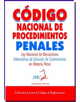 Código Nacional de Procedimientos Penales / Ley Nacional de Mecanismos Alternativos de Solución de Controversias