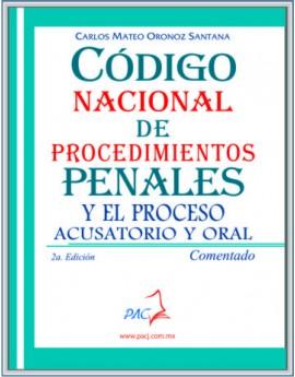 CÓDIGO NACIONAL DE PROCEDIMIENTOS PENALES COMENTADO- 2a edición