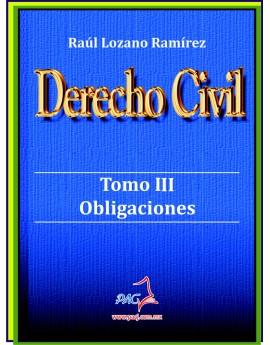 Derecho Civil Tomo III - Obligaciones