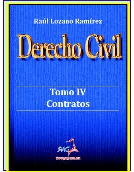 Derecho Civil Tomo IV - Contratos