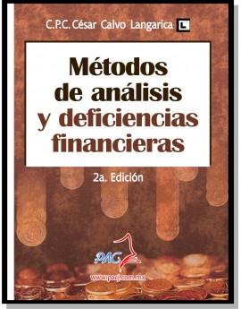 Métodos de Análisis y Deficiencias Financieras - 2a. Edición