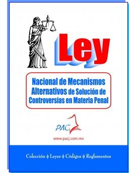 Ley Nacional de Mecanismos Alternativos de Solución de Controversias en Materia Penal